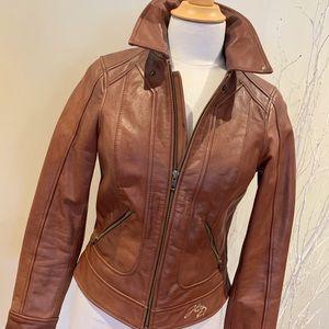 Ladies Harley-Davidson leather jacket size XS